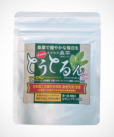 さがみの桑茶とうとるん item003 【お得用】とうとるん 40gスプーン付き